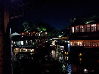 Abend in Wuzhen