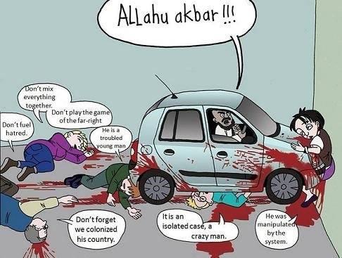 Auto-Dschihad und seine Entschuldigungen