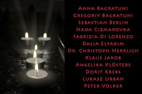 Namen der Opfer vom Breitscheidplatz