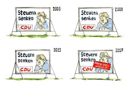 CDU will angeblich Steuern senken
