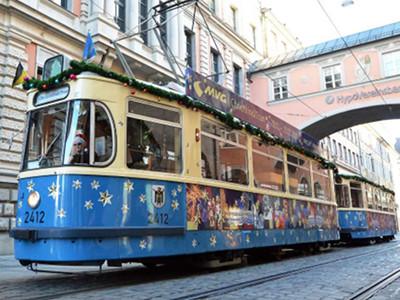 Christkindl-Tram in München