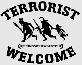 Dan Park: Terrorist Welcome