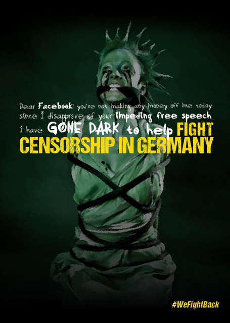 Darkbook: Fight Censorship in Germany