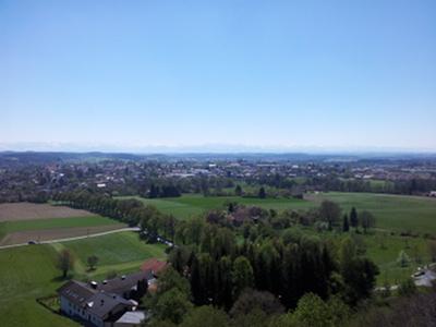 Ebersberg, noch ein Blick nach Süd