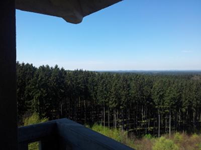 Ebersberg, Blick nach Nord
