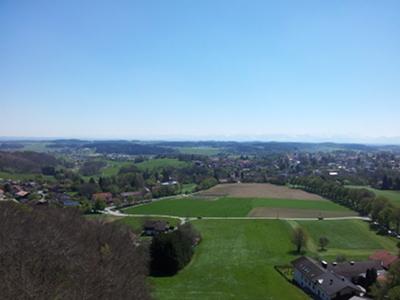 Ebersberg, Blick nach Süd