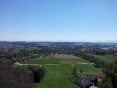 Ebersberg, Blick nach Südost