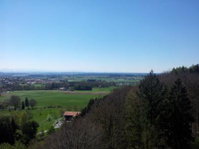 Ebersberg, Blick nach Südwest