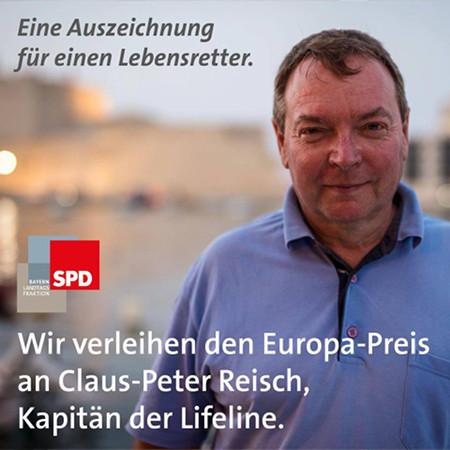 Europa-Preis für einen Migrantenschlepper