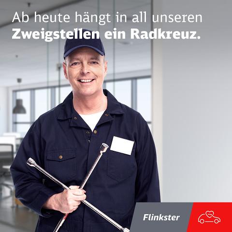 Flinkster: In jeder Filiale hängt ein Radkreuz