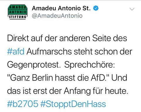 Ganz Berlin hasst die AfD