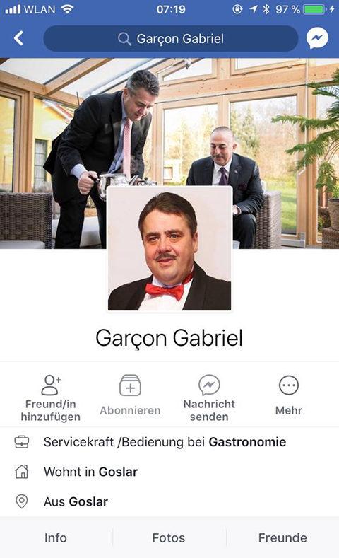 Garcon Gabriel aus Goslar