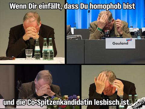 Gauland homophob??