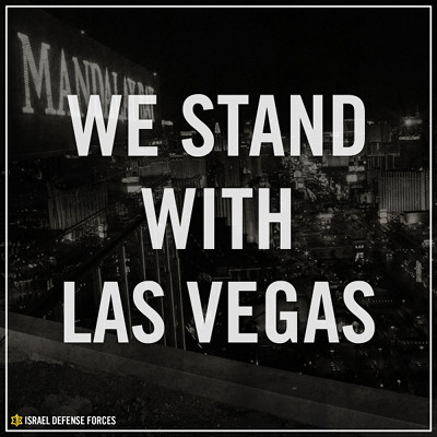 IDF: We stand with Las Vegas