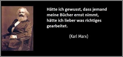 Karl Marx: Hätte ich anständig gearbeitet