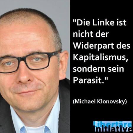 Klonovsky: Die Linke ist nur der Parasit des Kapitalismus