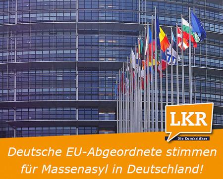 Kölmel: Deutsche Abgeordnete stimmen für Massen-Asyl in Deutschland
