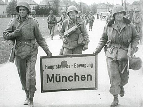 Kriegsende in München