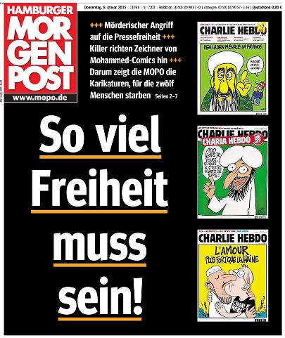 Titelblatt der Morgenpost