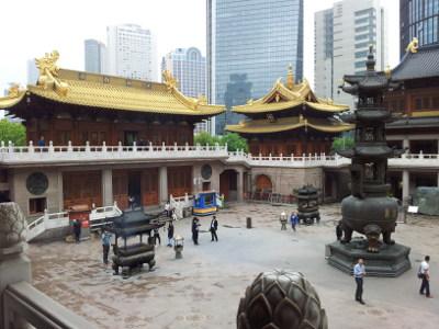 Nochmal Jing-An-Tempel