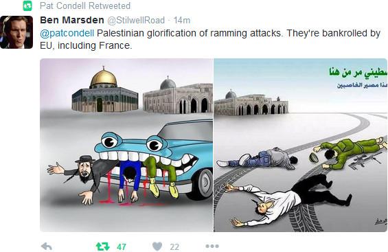 Palästinenser glorifizieren Auto-Dschihad