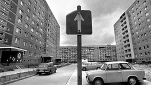 Plattenbau in der DDR