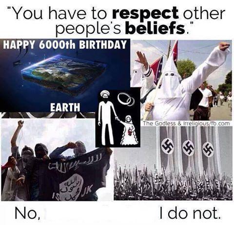 Respect beliefs? No!