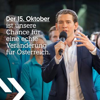 Sebastian Kurz, eine Chance für Österreich
