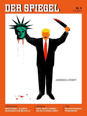 Spiegel: Trump köpft die Freiheitsstatue