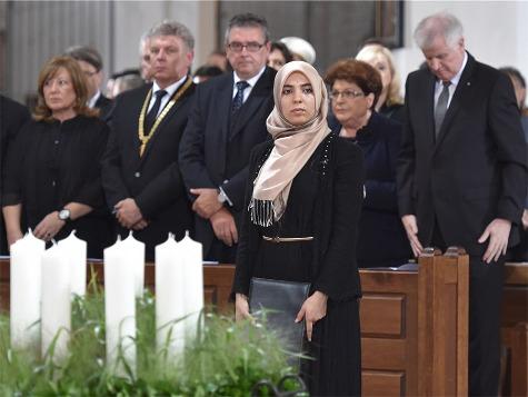 Trauerfeier in München