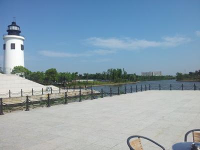 Wasserzugang des China Maritime Museum
