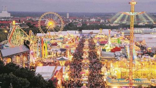 Wiesn in München