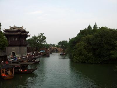 Wuzhen, Bootsanleger